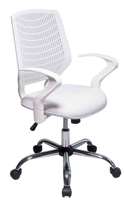 Cadeira Executiva Para Escritório – Base Giratória Cromada – Varias Cores