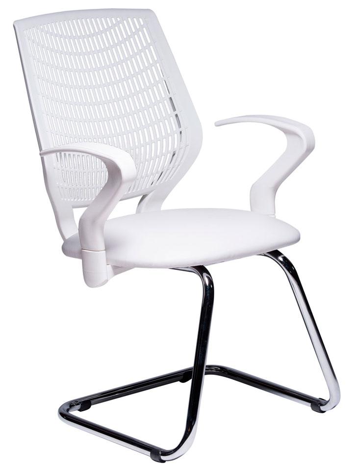 Cadeira Executiva Para Escritório – Base Fixa Cromada – Varias Cores