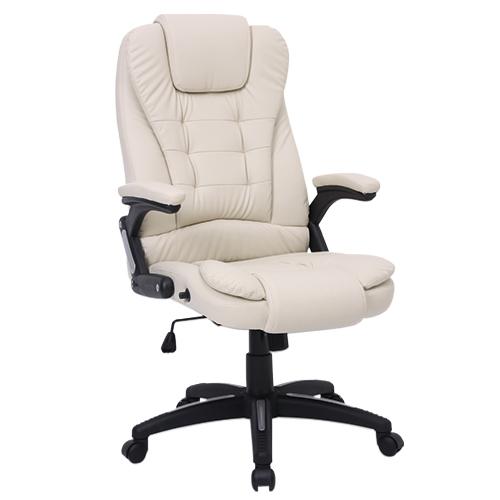 Cadeira de Massagem Presidente Base Giratória Relax Chair – Várias Cores