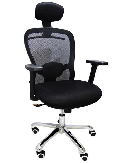 Cadeira Presidente CEO Ergon Tela Mesh Preta