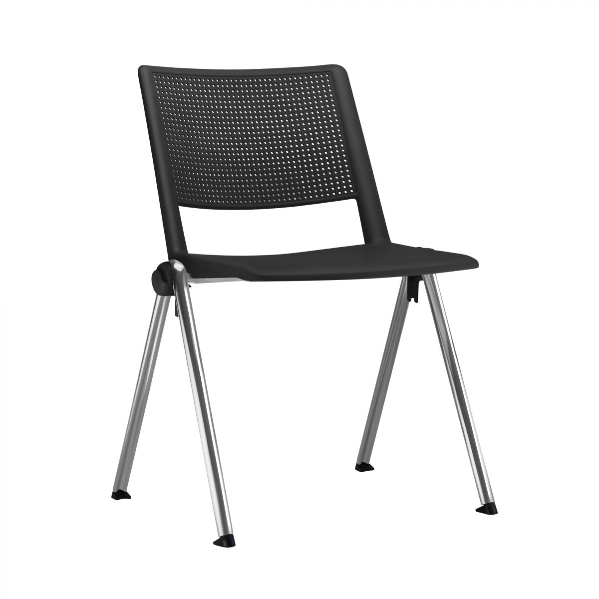Cadeira Em Polipropileno Revolution Base Fixa 4 Pés – Várias Cores