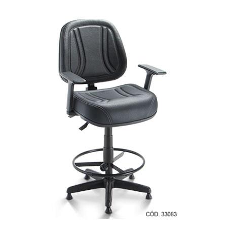 Cadeira Caixa Operativa Premiun Estofada Fixa – Pxm
