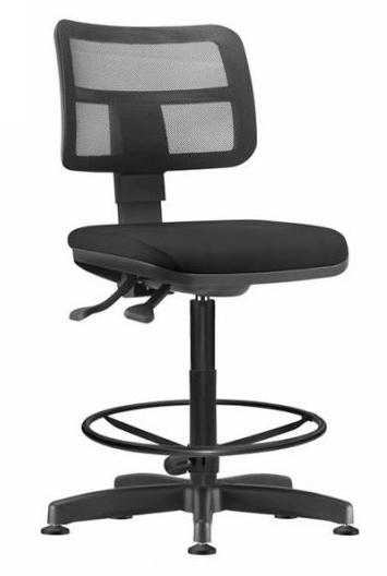 Cadeira Escritório Caixa Base Fixa Com Sapata ZIP