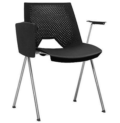 Cadeira Strike Universitária Com Prancheta Escamoteável