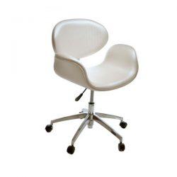 Cadeira Decorativa para Hotel Base Giratória Alumínio Tulipa Pierre Paulin