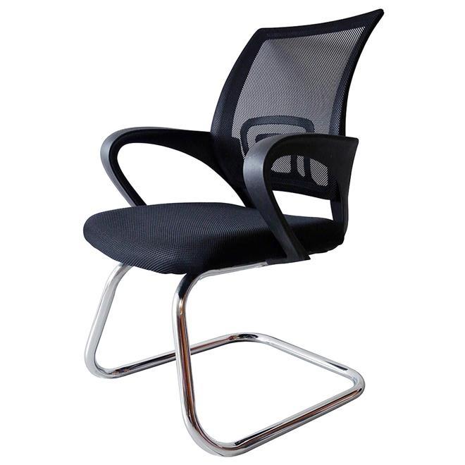 Cadeira Executiva Tela Mesh NJ – Preta Fixa