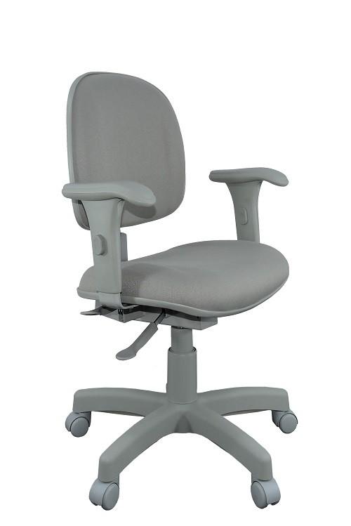 Cadeira Executiva Ergonômica Back System NR17 AT50 – Cinza