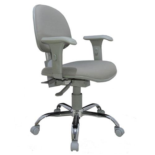 Cadeira Executiva Ergonômica Back System NR17 WK – Cinza