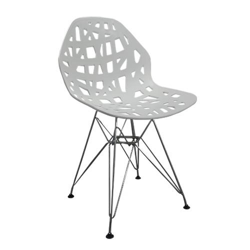 Cadeira Decorativa Akron Base em Aço – Várias Cores