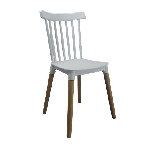 Cadeira Decorativa Windsor Base em Madeira – Várias Cores