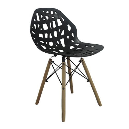 Cadeira Decorativa Akron Base em Madeira – Várias Cores